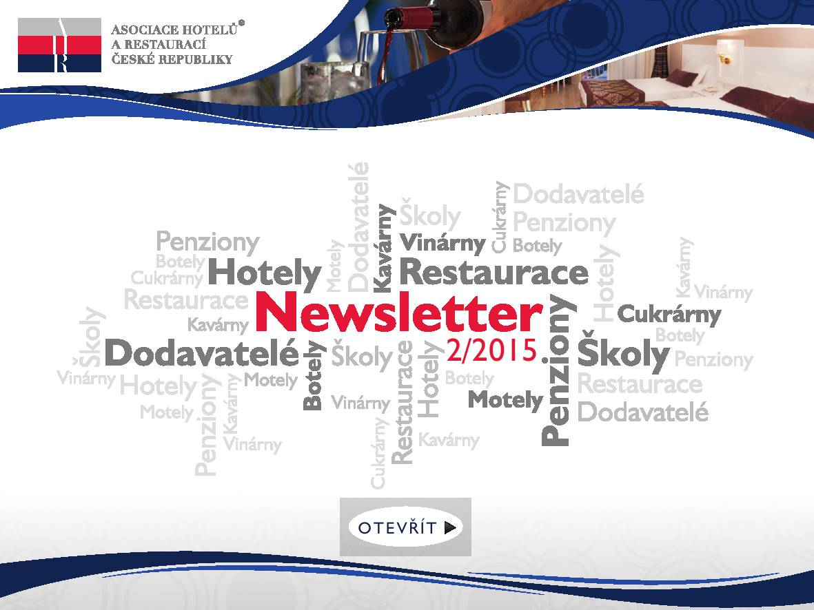 2. AHR ČR newsletter 2015