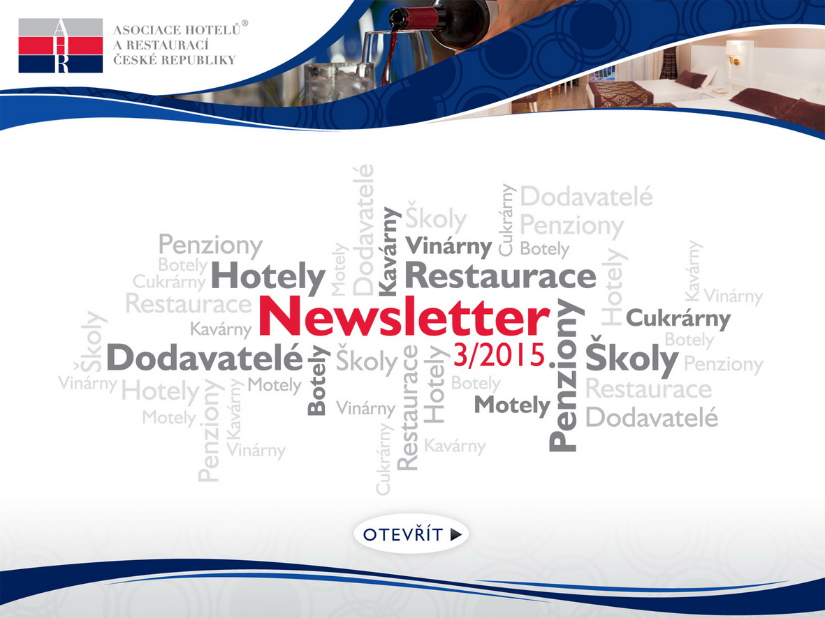 3. AHR ČR newsletter 2015